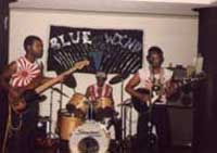 An early band 'Blue Wind'